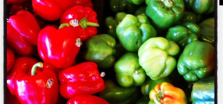 Fresh food available at farmers' markets throughout the Kansas City area
