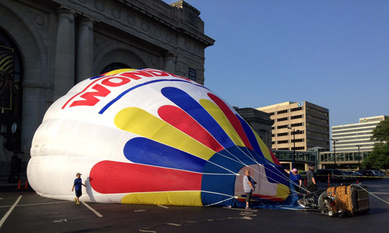 2014 Great Midwest Balloon Festival opens Aug. 8 at the Kansas Speedway